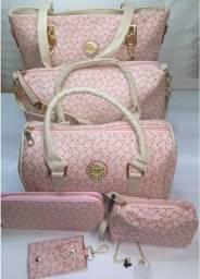 Conjunto de bolsas importadas