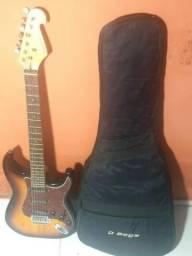 Guitarra + Capa + Cabo, vendo, troco ou faço negócio