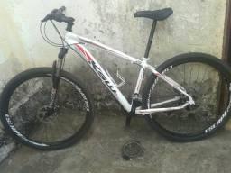 Bicicleta ksw over city
