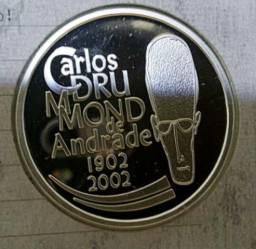 Moeda Carlos drumond de Andrade