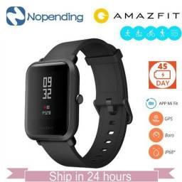 Relógio Smartwatch Amazfit Bip Xiaomi Versão Internacional Novo
