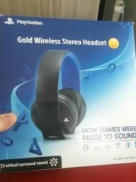 Vendo fone da sony gold wireless stereo