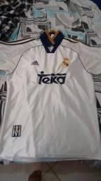 Camisa Real Madrid Comemorativa Champions League- 2000