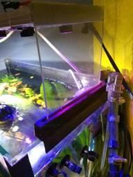 Luminária para aquário plantado 50 litros