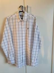 2 camisas sociais novas tamanho G R$ 60,00 cada