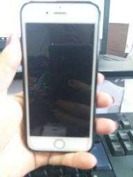 Iphone S6 64 GB + carregador extenso + capinha + película vidro