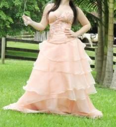 Vestido festa debutante