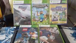 Xbox360 seminovo com jogos e + Kinet 2 controles !! metade do valor loja
