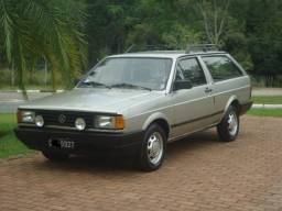 Vw - Volkswagen Parati CL 1.6 1988 Raríssima Placas Preta