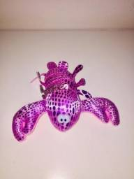 Chaveiro lagosta rosa