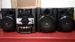 HI-FI System LG mct354 Forte de som!!! 350W RMS com leitor de pen drive/usb