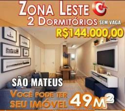 49 metros 2 Dormitórios São Mateus
