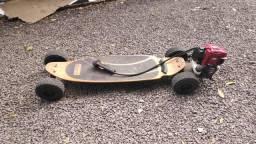Skate motorizado 4 tempos