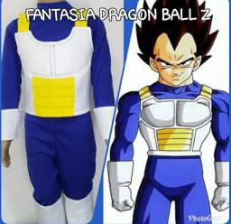FANTASIA VEGETA DRAGON BALL Z INFANTIL