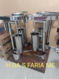 Empresa Fabricante de maquinas de Açaí e acessórios em Aço Inox