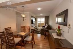 Apartamento com 3 dormitórios à venda por R$ 360.000,00 - Boqueirão - Curitiba/PR