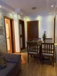 Apartamento com 2 dormitórios à venda, 47 m² por R$ 206.700 - Vila Nova Aparecida - Mogi d