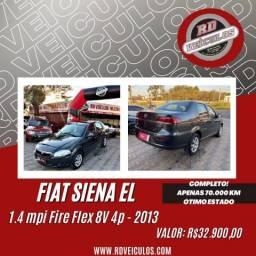 Fiat Siena EL 1.4 mpi Fire Flex 8V 4p 2013 Flex