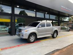 HILUX 2012/2012 3.0 SRV 4X4 CD 7 LUGARES 16V TURBO INTERCOOLER DIESEL 4P AUTOMÁTICO