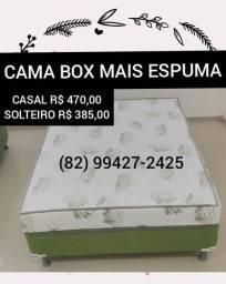CAMAS BOX E COLCHÕES BONSONO
