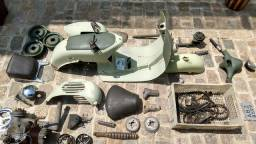 Vespa M4 1962 documentada, para restauração