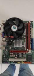 Placa mãe LGA 775 DDR3  pra sair hoje!!!