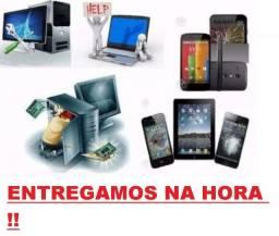 Formatação e configuração de notebooks,tv, androide,tablete,pc e muito mais