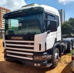 Vendo ou troco Scania 360.