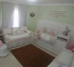 Kit berço e cama de babá (Menina) 13 Peças