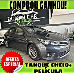 TANQUE CHEIO SO NA EMPORIUM CAR!!! TOYOTA COROLLA XEI 2.0 ANO 2016 BLINDADO