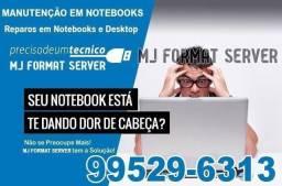 Assistência Ténica Especializada em Notebooks