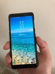 Samsung Galaxy A8 Preto 2018