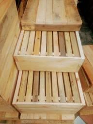 Fabrico caixas abelhas APIS E SEM FERRÃO