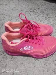 Tênis Olympikus Infantil Rosa Neon numeração 32