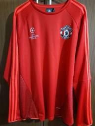Camisa treino manga longa Manchester United ORIGINAL