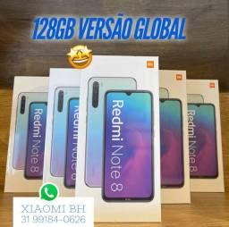 C/ Nota Fiscal em seu NOME! Xiaomi NOTE 8 128GB / Novo Lacrado Garantia / Versão global