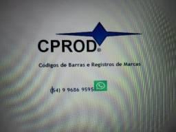 Registros de Marcas e Códigos de Barras de Produtos