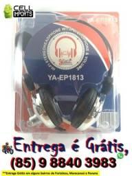 Headset Com Microfone Para PC Entrega Grátis