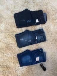 Bermuda jeans para criança