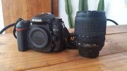 Câmera Fotografia Nikon D7000 + Flash Nikon + Lente 18-105