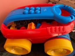 Brinquedos Didáticos Usados 6 meses a 5 anos Unissex