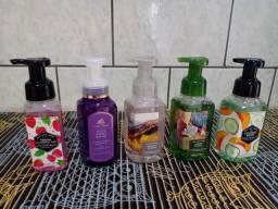 Sabonetes de mão espuma Bath& bodyworks