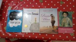 Combo com 6 livros.