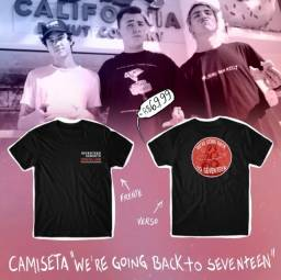 "Camiseta ""We're Going Back to Seventeen"""