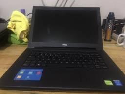 Notebook Dell i5 5a Geração com Placa de Vídeo Dedicada de 2Gb! Forneço Garantia e Parcelo
