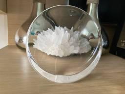 Círculo em vidro fabricado na Noruega