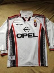 Camisa Milan 1997/98 Lotto - P