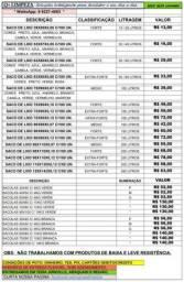 SACOS DE LIXO EMBALAGEM C/100 UNID.  TODOS OS TAMANHOS E CORES