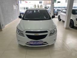 Chevrolet Onix Joy 2018 Branco 1.0