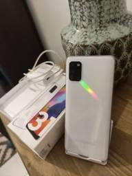 Samsung A31 128GB Branco - Impecável - Completo!